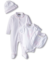 Armani Junior - Five-Piece Gift Set: Body Suit, Footie, Big, Hat & Bag (Infant)