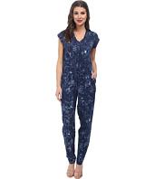 Sam Edelman - Floral Print S/S Jumpsuit