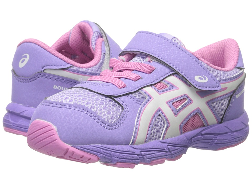 Image of ASICS Kids - Bounder TS (Toddler) (Petal Pink/White/Violet) Girls Shoes