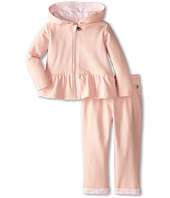 Armani Junior - Two-Piece Hooded Track Suit w/ Stripe Bow Detail (Infant)