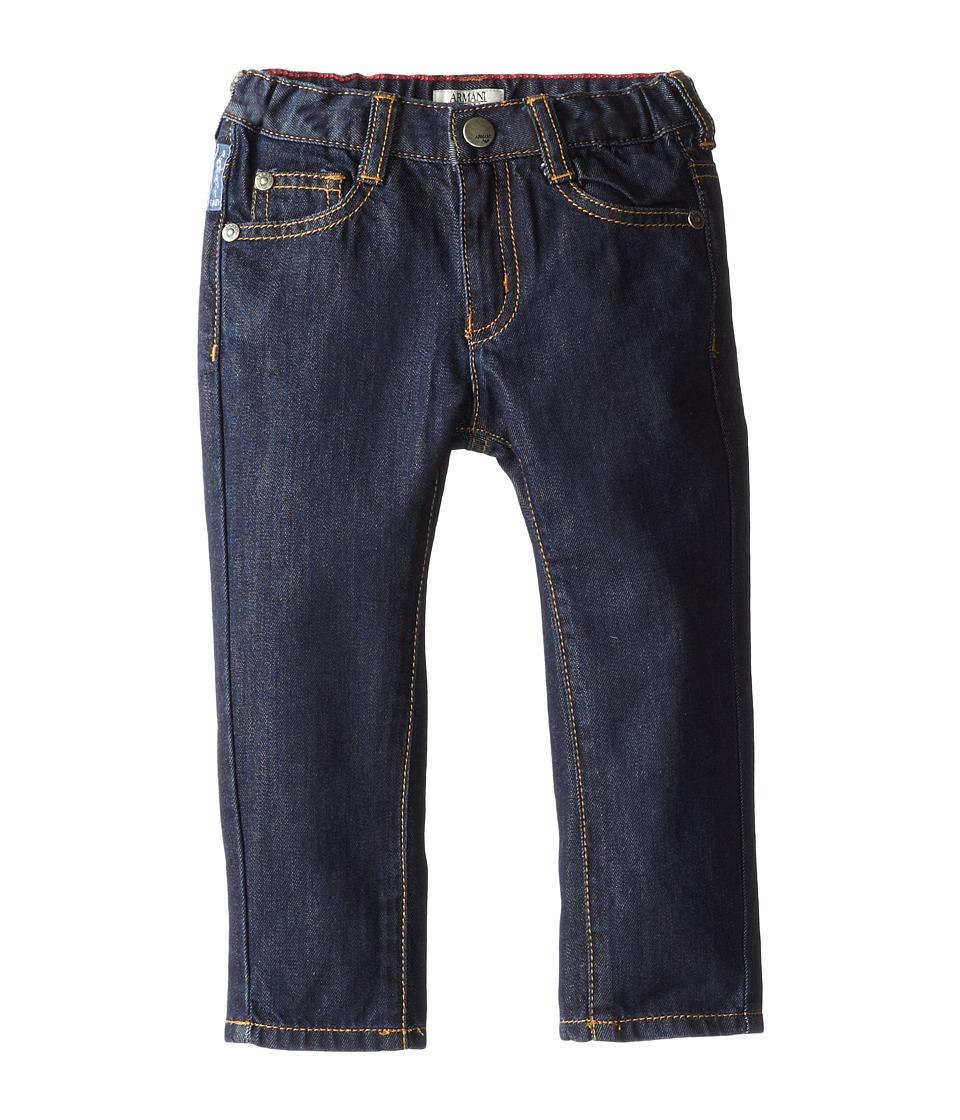 Armani Junior Dark Wash Basic Denim Infant Denim Boys Jeans