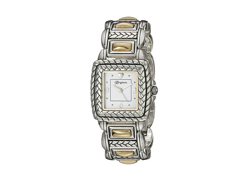 Brighton Tampa Timepiece - Silver/Gold