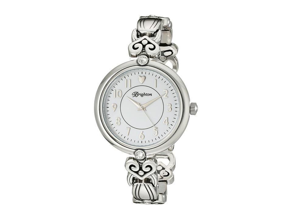 Brighton - La Palma Timepiece (Silver/Stone) Dress Watches