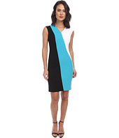 Calvin Klein - Cap Sleeve Color Block Sheath CD4X1273