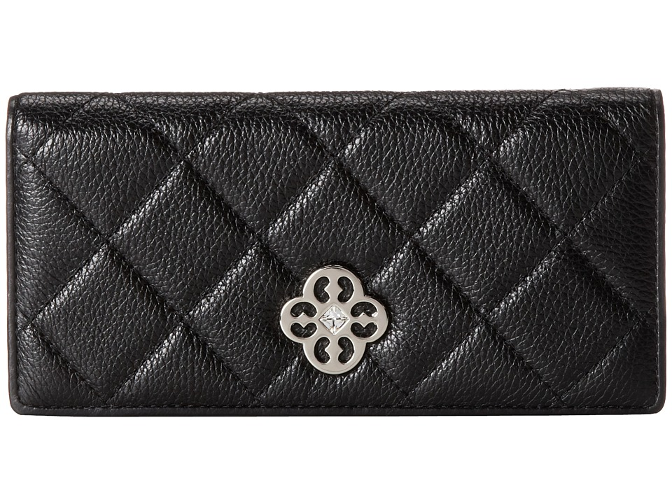 My Flat In London - Westminster Slim Wallet (Black) Wallet Handbags