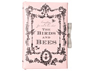 My Flat In London Birds Bees Book Clutch (Pink)