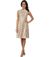 Adrianna Papell - Directionals Netting Shimmer Inset Dress
