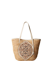 Brighton - Ara Beaded Raffia Tote
