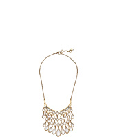 Lucky Brand - White Collar Bib Necklace