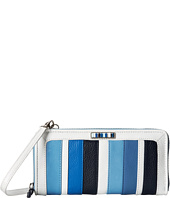 Brighton - Cabana Blues Zip Around Wallet