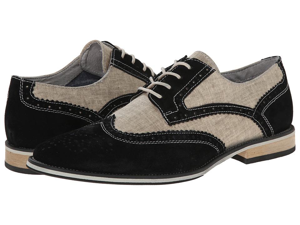 Giorgio Brutini - Vento Black Mens Shoes $69.00 AT vintagedancer.com