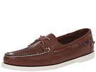 Image of Sebago - Docksides (Brown Leather) Men's Lace up casual Shoes
