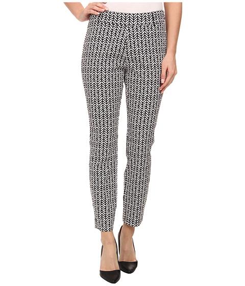 Hatley - Ankle Length Pants (Black/White Broken Chevron) Women's Casual Pants