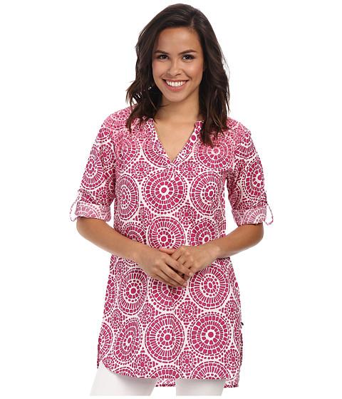 Hatley - Classic Tunic (Fuchsia Mosaic) Women's Clothing