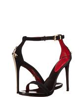 Cesare Paciotti - Suede Ankle Strap Heeled Sandal