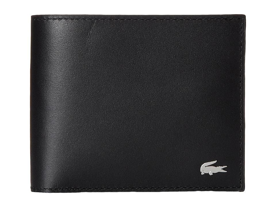 Lacoste - FG Large Billfold (Black) Bill-fold Wallet