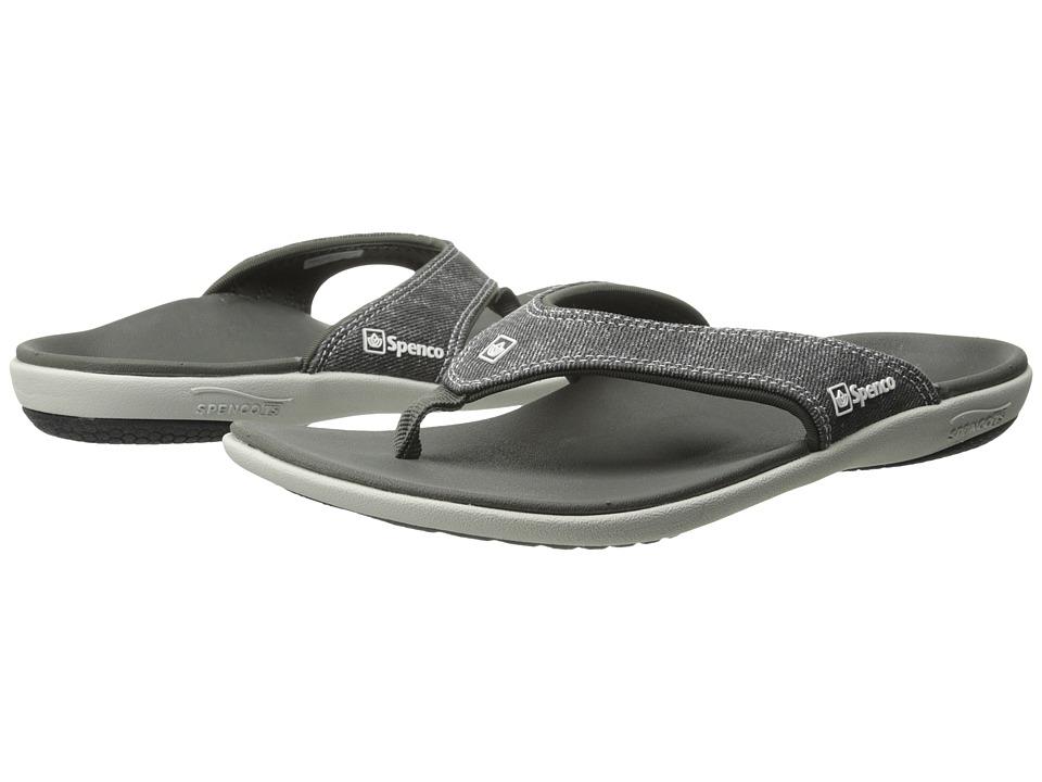 Spenco Yumi Disco Black Womens Sandals
