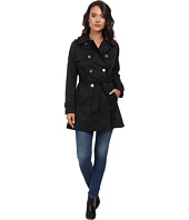 LAUREN by Ralph Lauren - Double Breast Trench w/ Silver Hardware
