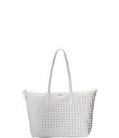 Lacoste - L.12.12 Metallic Concept Croc Horizontal Tote Bag