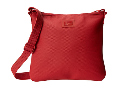 Lacoste Classic Flat Crossover Bag