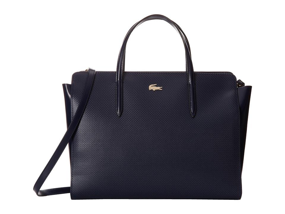 Lacoste - Chantaco Shopping Bag (Peacoat) Handbags