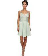 Calvin Klein - Draped Chiffon Dress with Beaded Strap CD5B1861