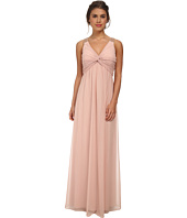 Calvin Klein - Front Knot and Beading On Shoulder Gown CD5B1794