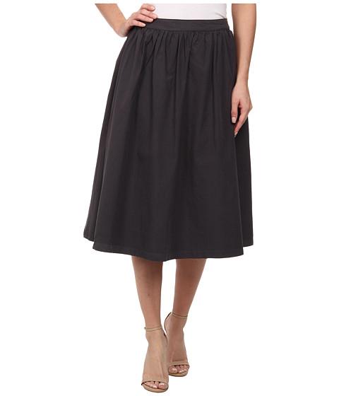 michael cotton poplin a line skirt oxide 6pm