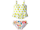 Seafolly Kids Roses Are Pink Singlet Bikini Set