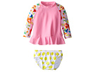 Seafolly Kids Roses Are Pink Baby Sunvest Set