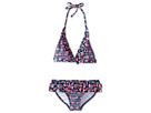 Seafolly Kids Rosie Lane 70's Halter Bikini Set