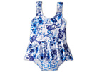 Seafolly Kids Tea House Peplum Tank