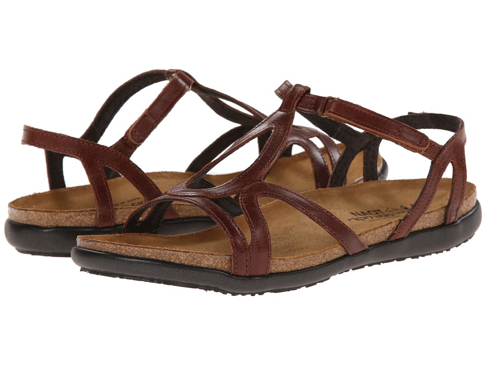 Naot Footwear Dorith (Luggage Leather) Sandals