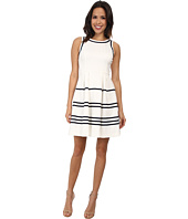 Jessica Simpson - Fit and Flare Stripe Dress