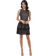 Jessica Simpson - Crochet Lace Tier Dress w/ Bow