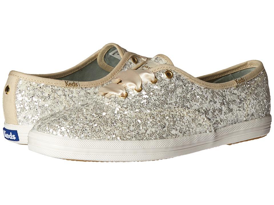 Kate Spade New York - Glitter (White Glitter) Women
