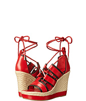 Alexander McQueen - Ankle Wrap Wedge Sandal
