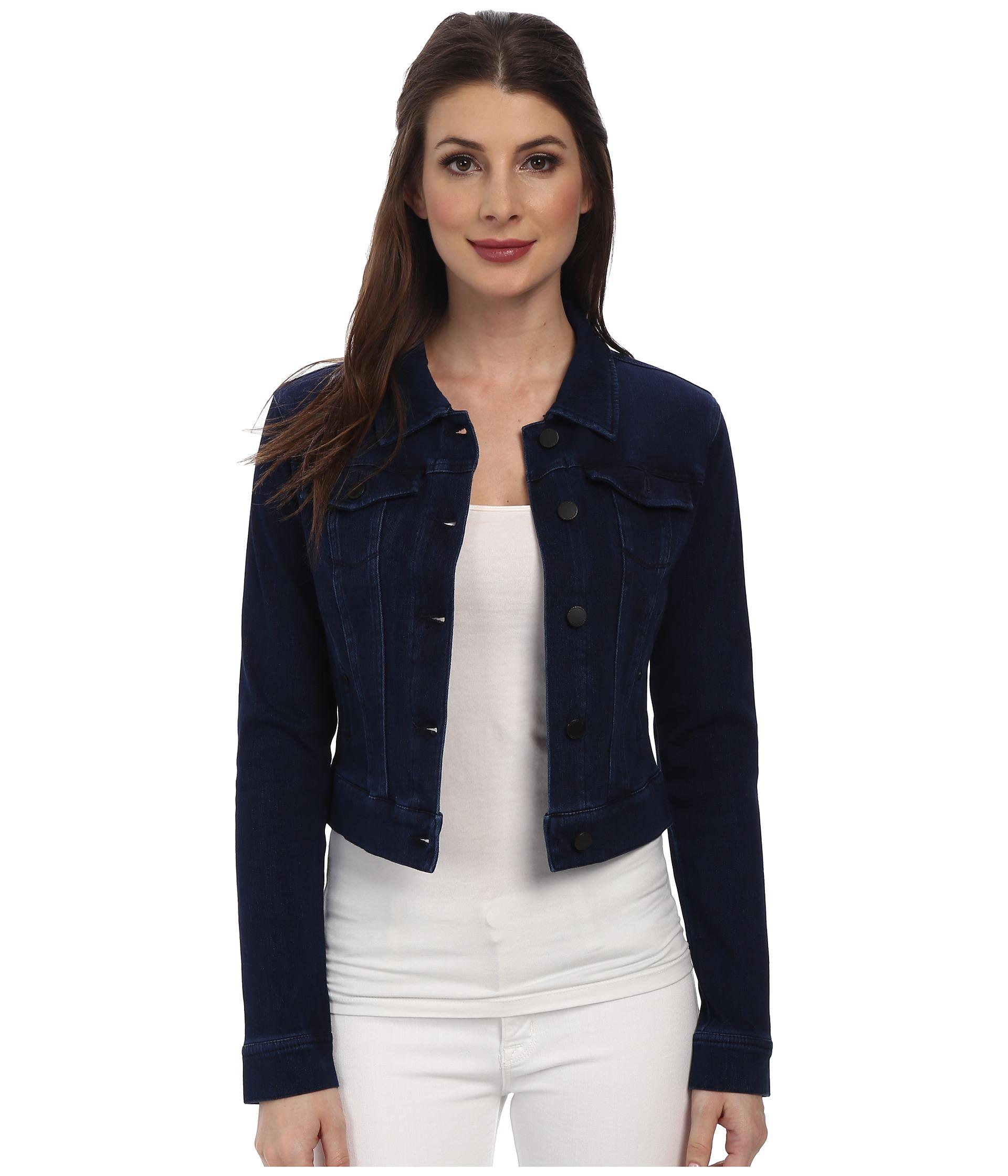Cropped sleeve leather jacket