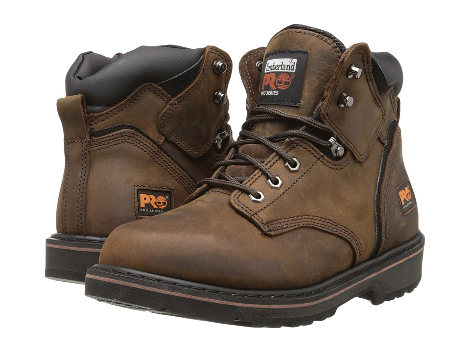 Timberland PRO - 6 Pit Boss Soft Toe (Gaucho Oiled Full-Grain Leather) Men
