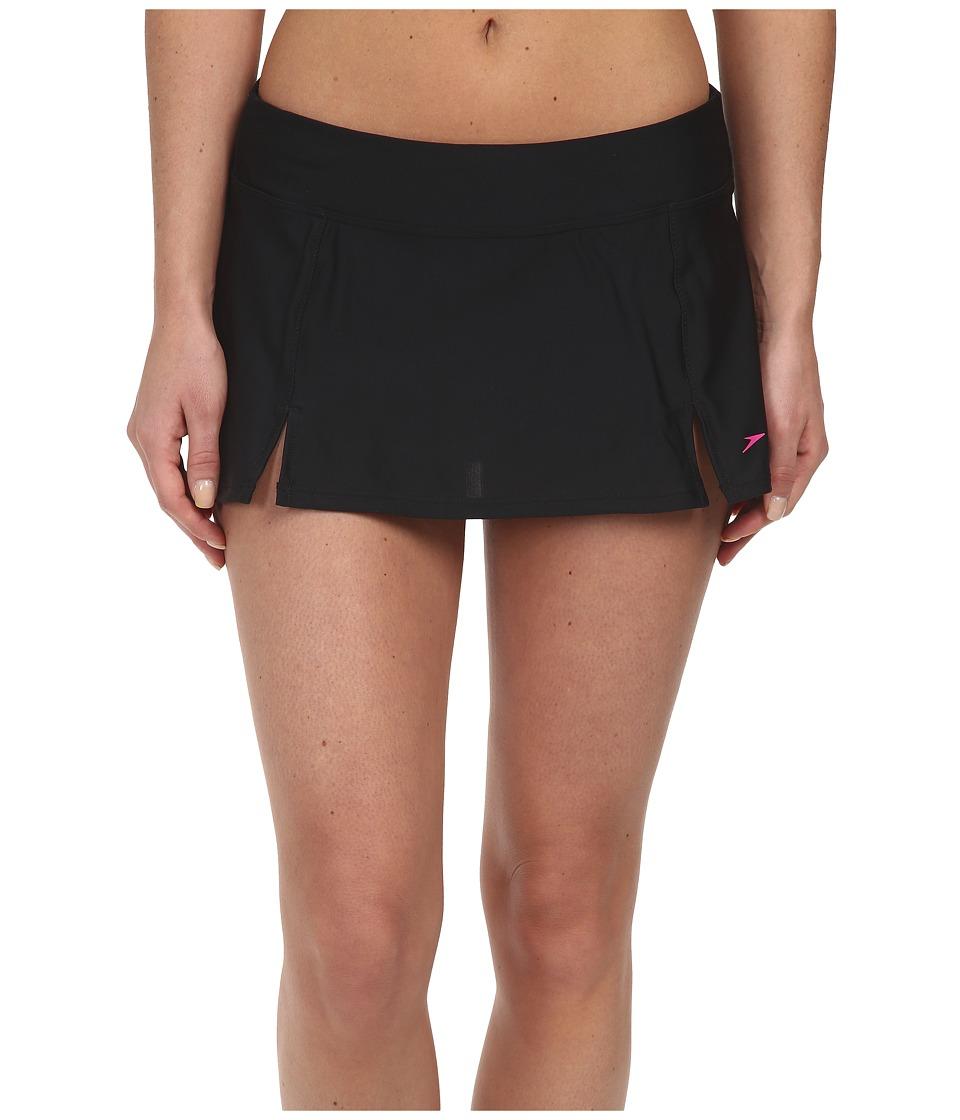 Speedo Skirtini Bottom (Black) Women