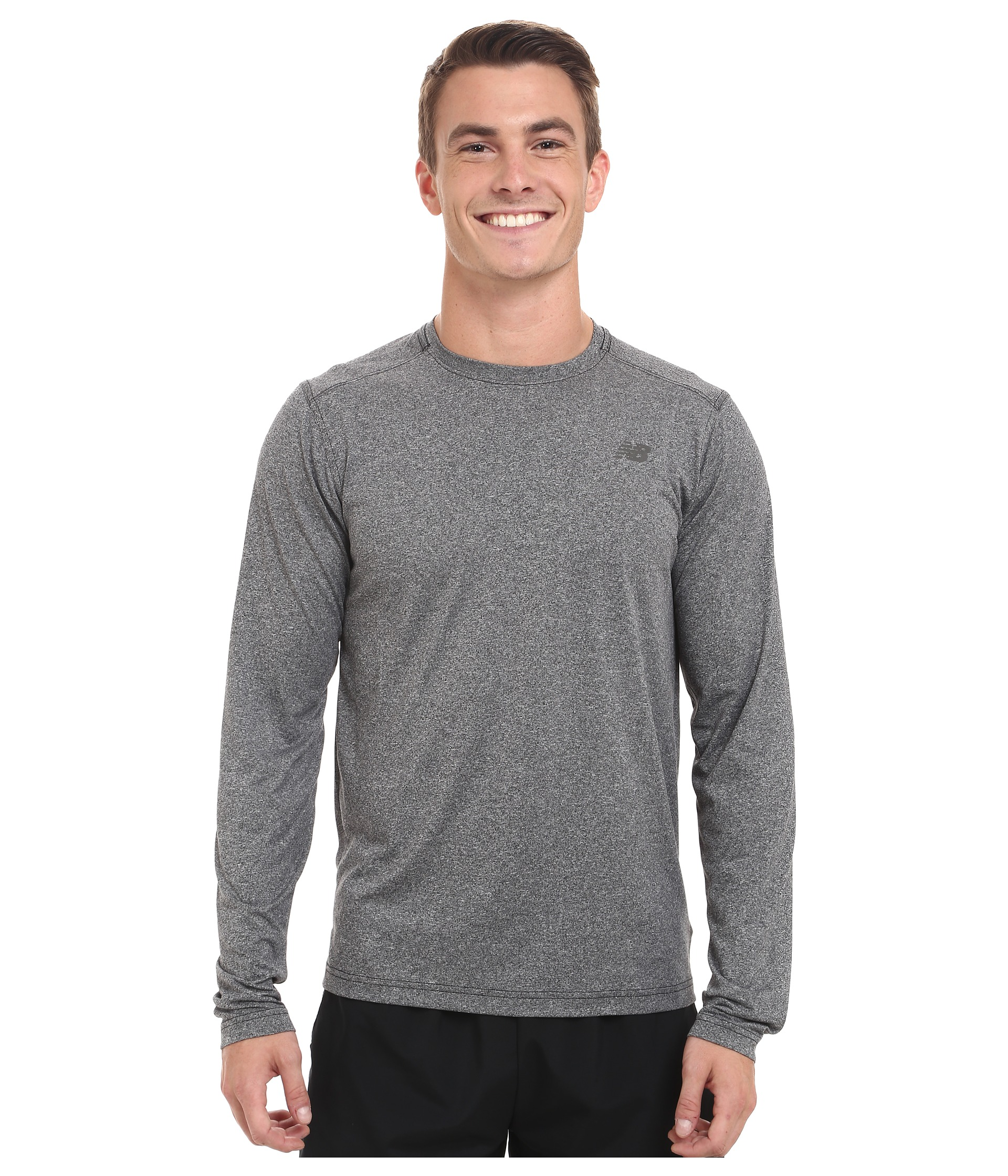 W9w4yp5h Discount New Balance Mens Long Sleeve Running Shirt