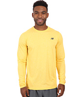 New Balance - Long Sleeve Heather Tech Tee