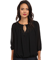 KAS New York - Marietta Peasant Blouse