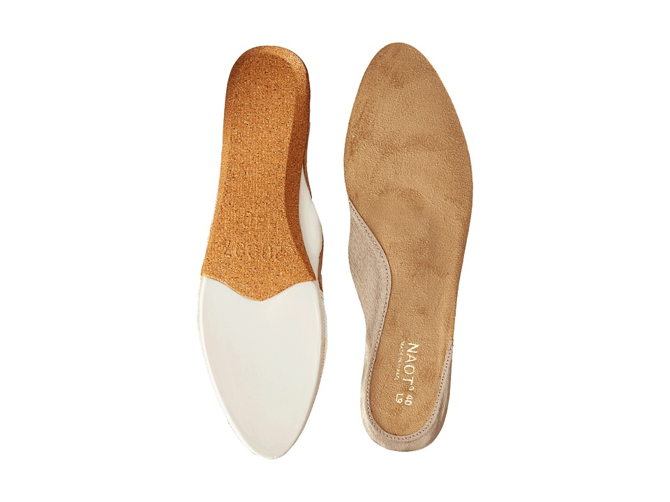 Naot Footwear FB26 Prima Bella Replacement Footbed Gold Womens Insoles Accessories Shoes