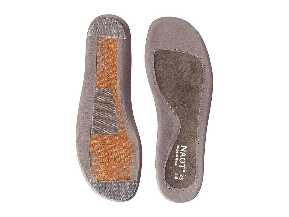 Naot - FB28 - Vineyard Replacement Footbed (Gray) Womens Insoles Accessories Shoes