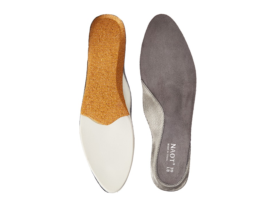 Naot Footwear FB26 Prima Bella Replacement Footbed Silver Womens Insoles Accessories Shoes