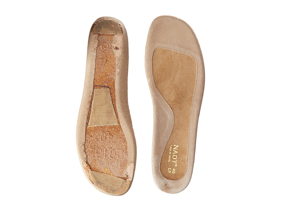 Naot Footwear FB28 Vineyard Replacement Footbed Beige Womens Insoles Accessories Shoes