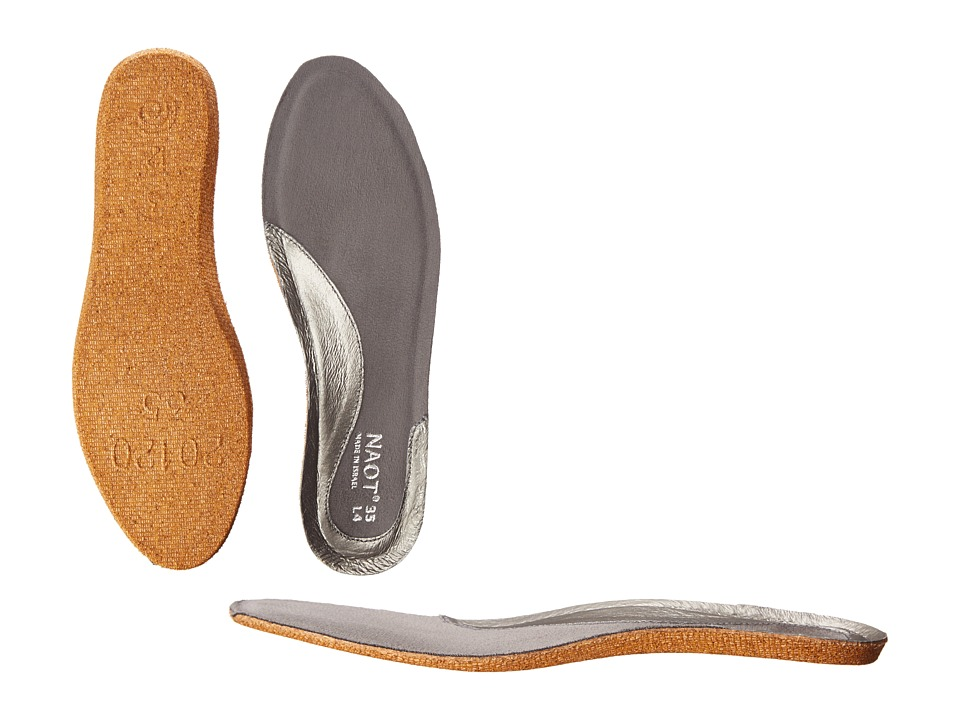 Naot Footwear FB27 Aura Replacement Footbed Silver Womens Insoles Accessories Shoes