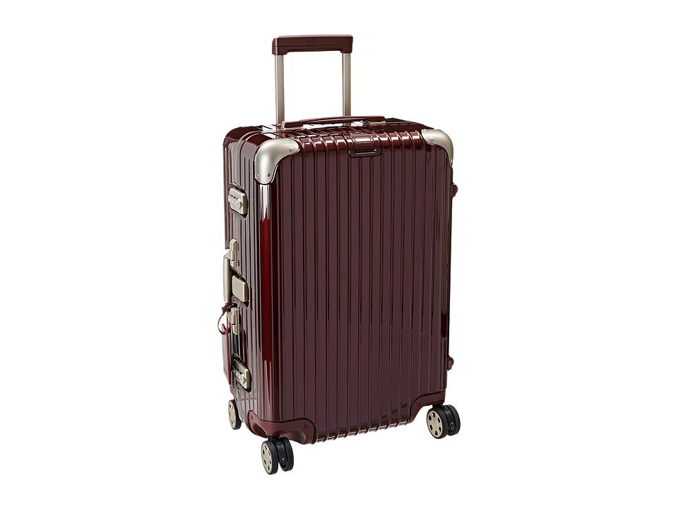Rimowa Limbo 26 Multiwheel Carmona Red Suiter Luggage