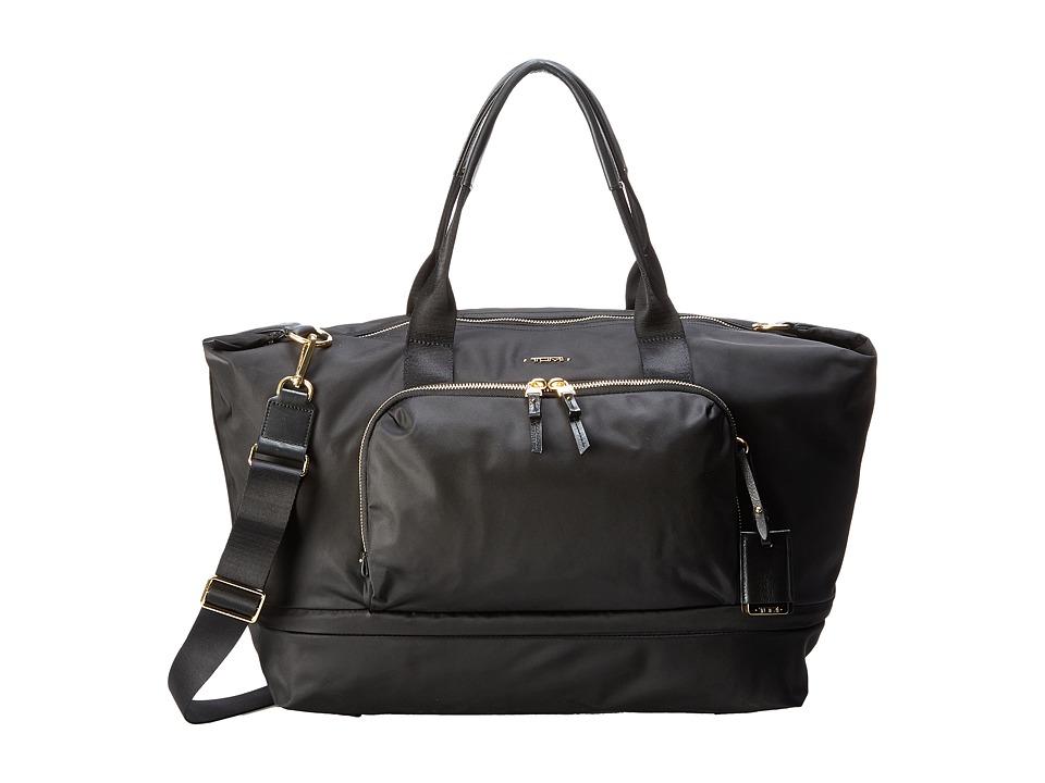 Tumi - Voyageur Durban Expandable Duffel (Black) Duffel Bags